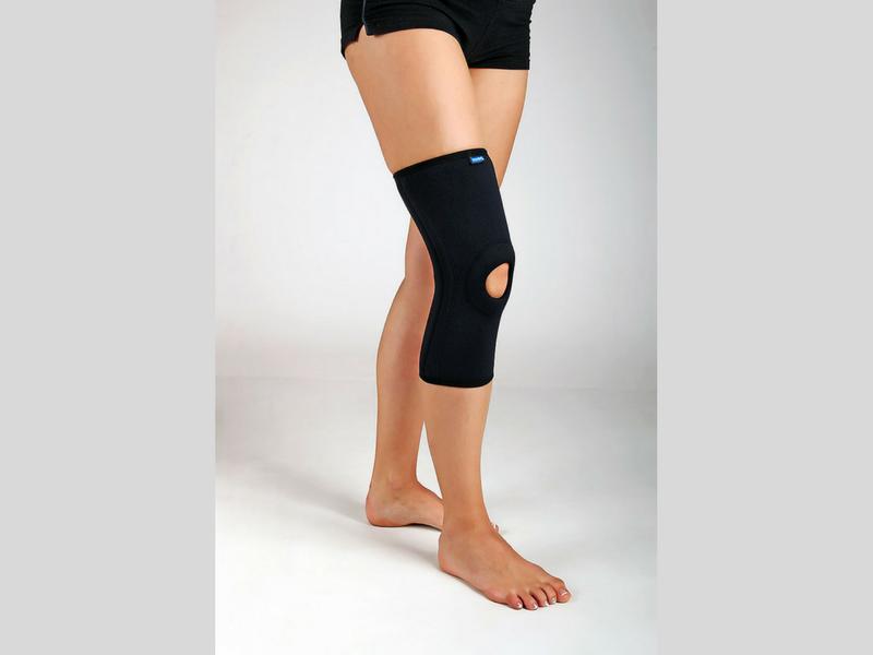 PAN 7.12 - Ортез коленный короткий натягивающийся с пружинными вставками