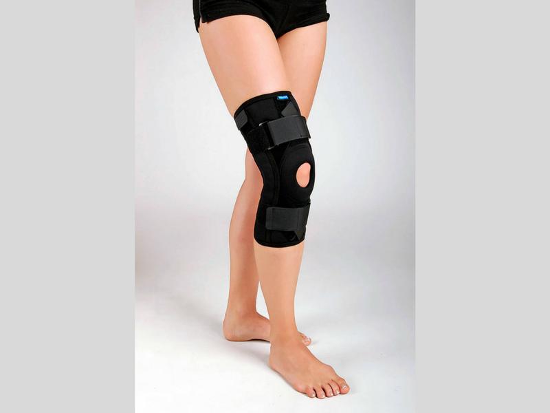PAN 7.13 - Ортез коленный короткий с перекрестным натяжением